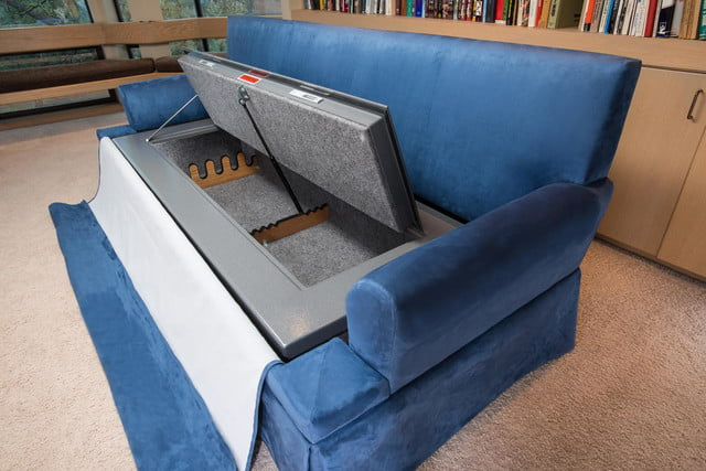 couchbunker bullet resistant sofa gun safe heracles research corporation 005