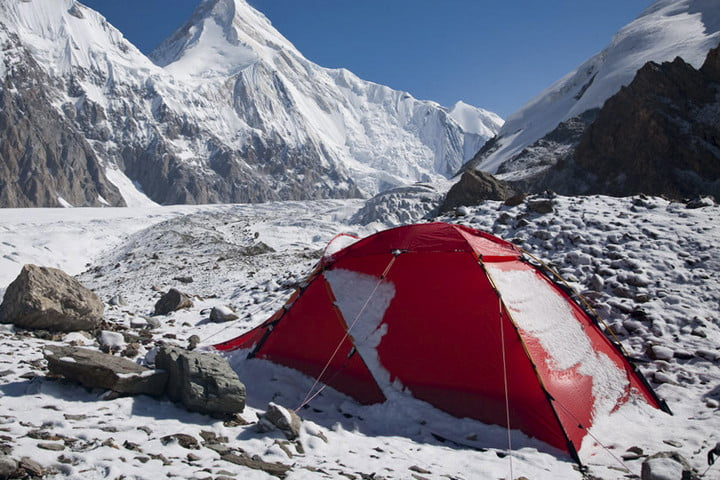 best 4-season tents Jannu Mountains