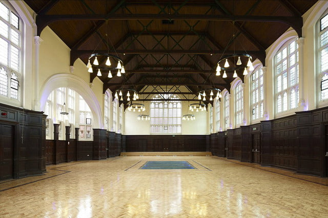 apartments are available in a former hogwarts filming location great hall dining room