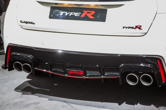 honda civic type r official pictures specs and performance 4