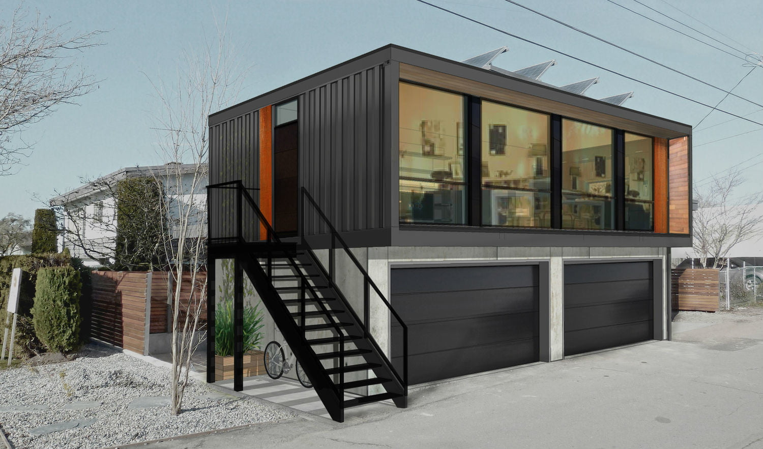 Honomobo Shipping Container Homes Are Stackable and Luxurious | Digital Trends & Honomobo Shipping Container Homes Are Stackable and Luxurious ...