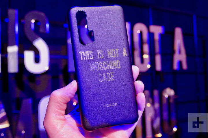 honor 20 news pro moschino case