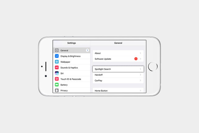 how to hide messages from spotlight in ios 2