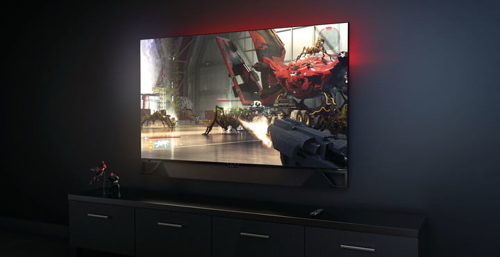 Hp Omen X Emperium Is A 65 Inch Gaming Monitor Made For The Living