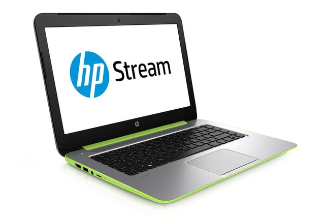 HP Stream green press image