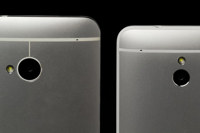 htc one mini side comparison cameras