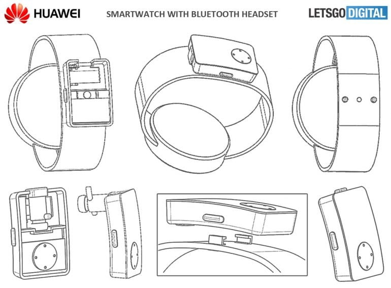 huawei watch with earbuds