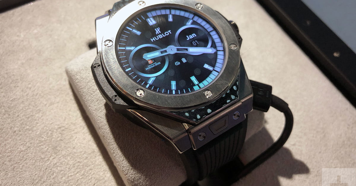 Hublot Big Bang Referee Hands On Review Digital Trends