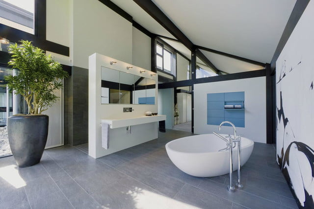 huf haus prefab mansions are ultra luxurious mansion bathroom