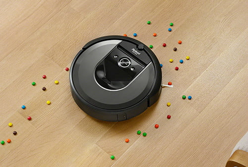 irobot slashes 150 off i7 best roomba robot vacuum that empties itself  charcoal photo cleantrail candy wood