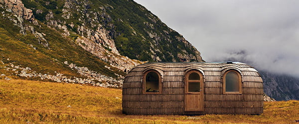 This hybrid tiny home sauna gives hotbox a new meaning