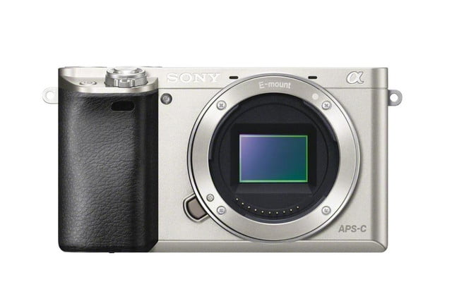 sony unveils alpha a6000 mirrorless camera ilce 6000 front silver 1200