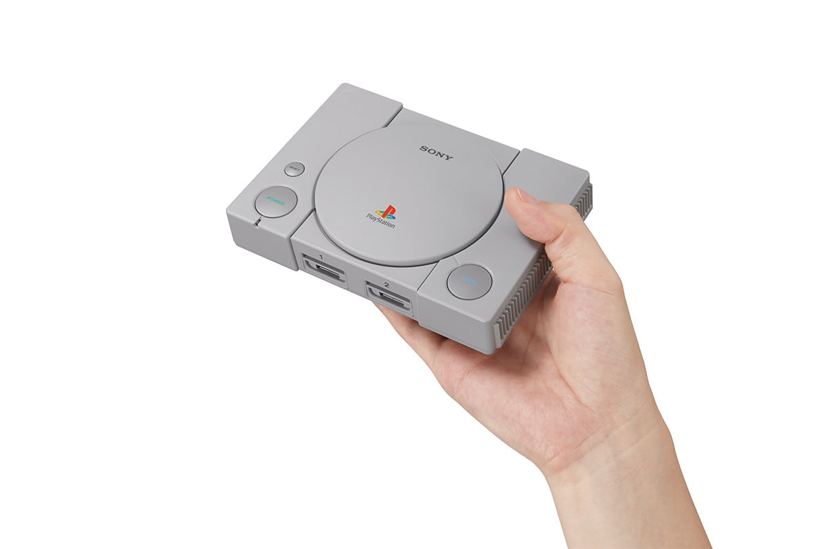 sony playstation classic console gray image for deal 2290644