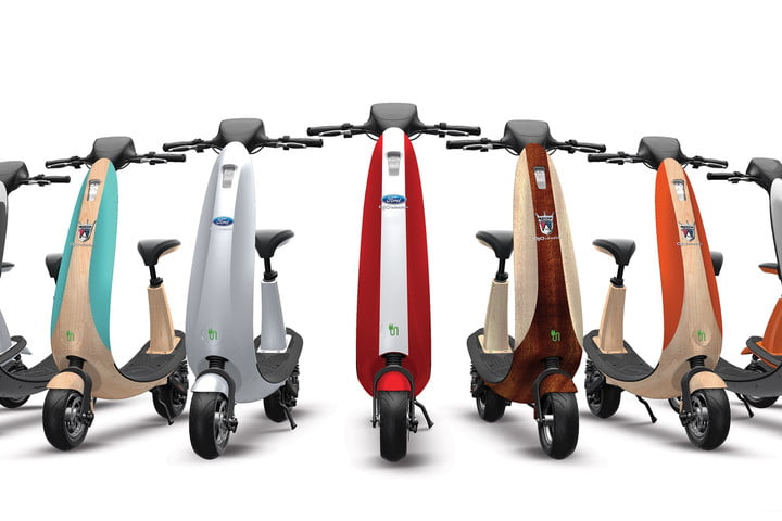 Ford Ojo Commuter Scooter