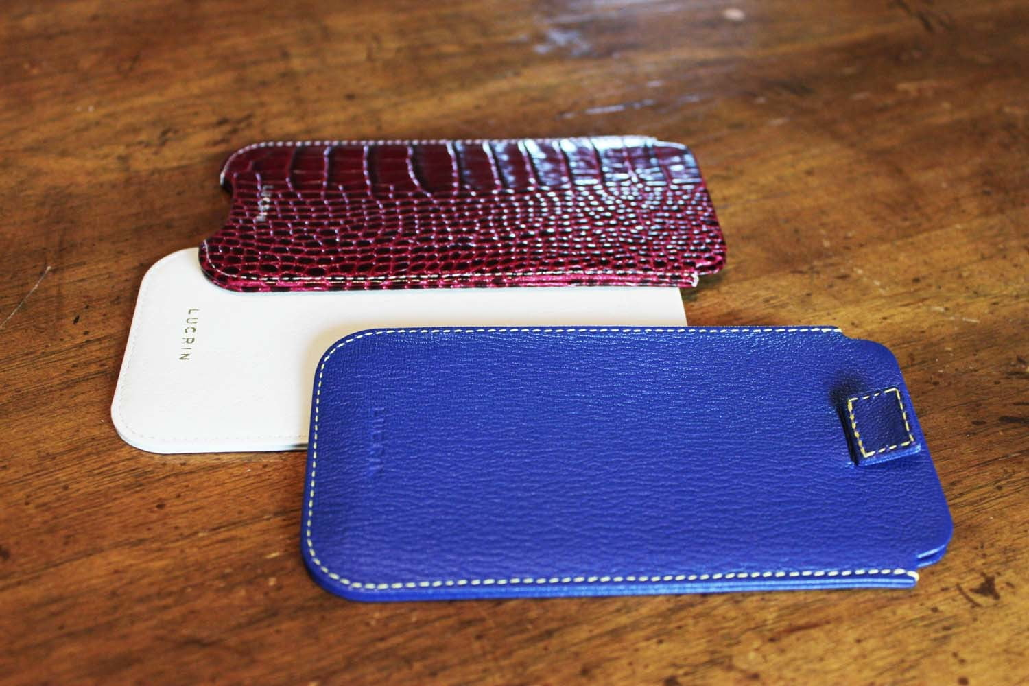 finest selection 1dd6d f8a48 Lucrin Leather Pouch for iPhone 6 and 6s | Digital Trends