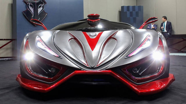 inferno exotic car 1400 horsepower metal foam pictures 001