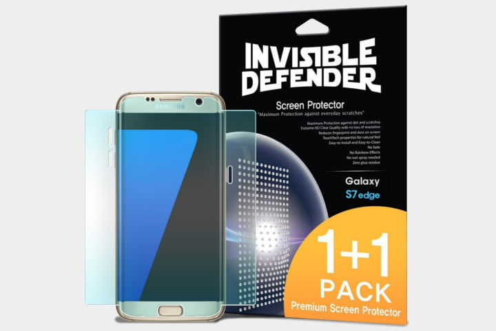 best galaxy s7 edge screen protectors invisible defender cases