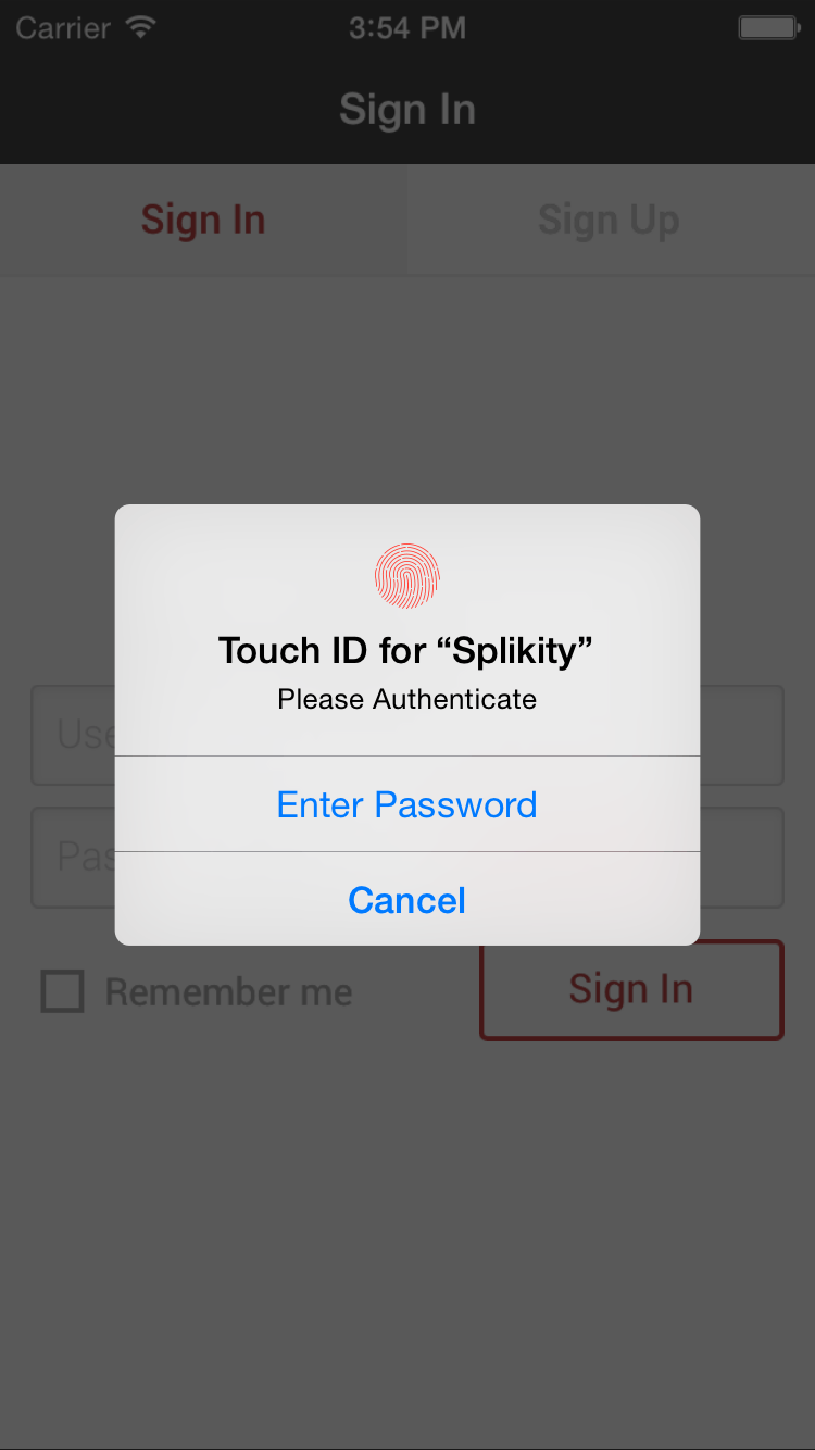 Splikity Remembers Your Passwords, Uses Touch ID | Digital