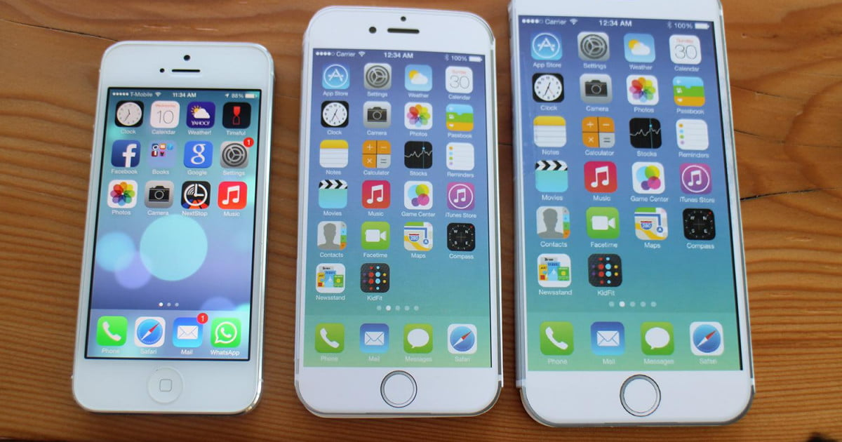 difference between iphone 6 and 6 plus iphone 6 plus size comparison here s how big it is 19696