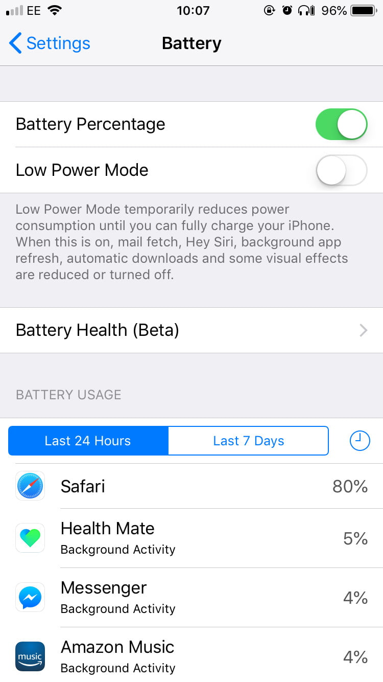 turn on battery percentage iphone 10 settings you need to change on your apple iphone x or 9855