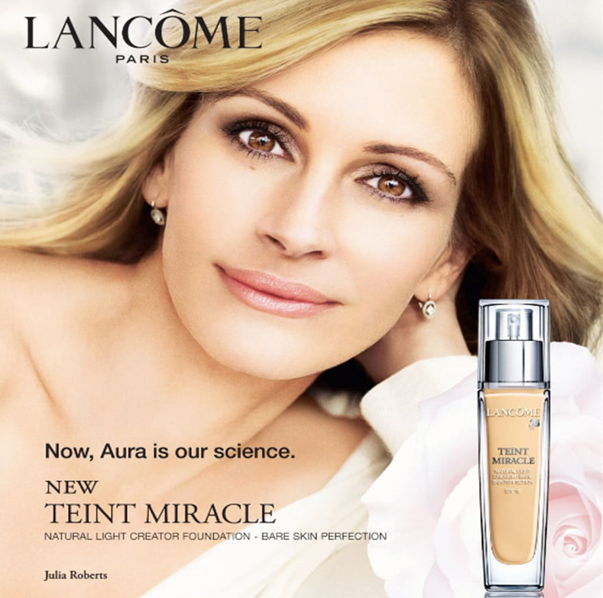 Banned In Uk: Photoshopped Julia Roberts Advert Banned In UK