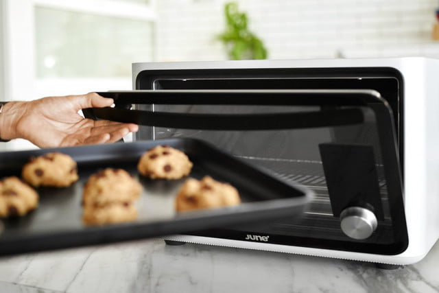 the june intelligent oven knows what youre cooking cookies