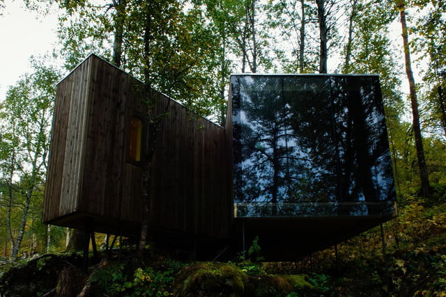 retreat from society and relax in these idyllic cabins around the world juvet landscape hotel 7