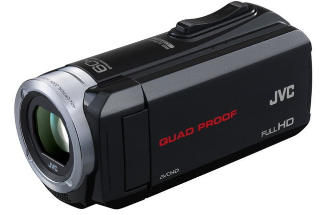 rugged pov cams go full size jvcs weather everio jvc gzr10 black
