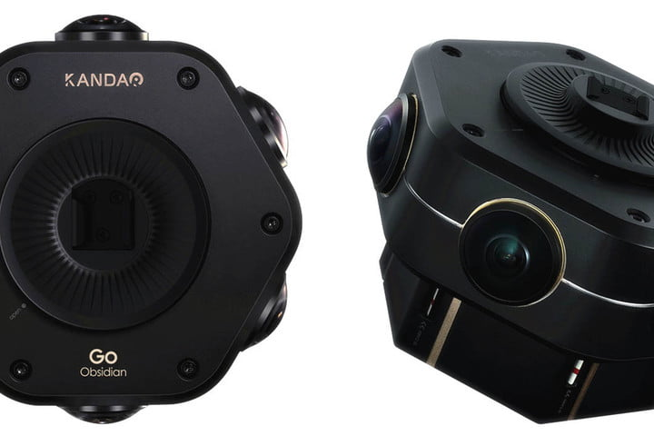 The Obsidian Go is a 3D, 360 4K camera with a more palatable price tag