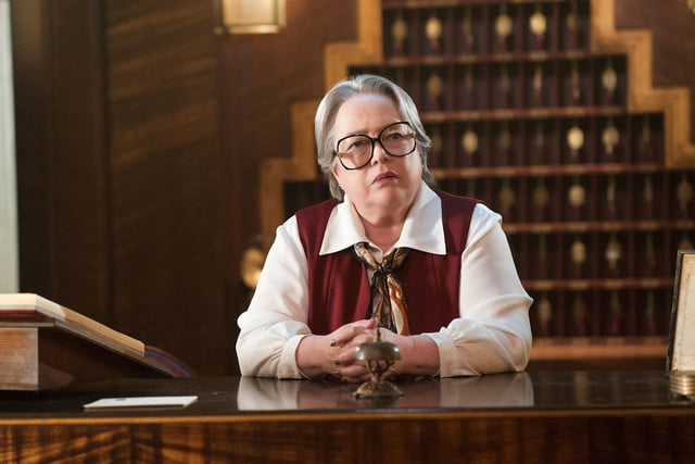 68th emmy nominations kathy bates american horror story  hotel outstanding supporting actress in a limited series or movie