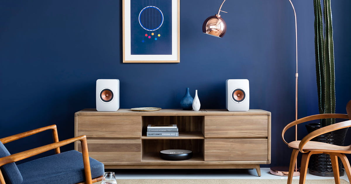 kef s ls50 wireless speaker clips the wires and adds a high quality built in amplifier. Black Bedroom Furniture Sets. Home Design Ideas