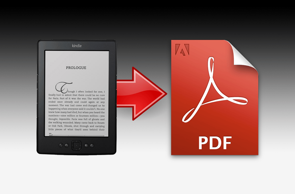 Mobile news: How to convert a Kindle ebook to PDF