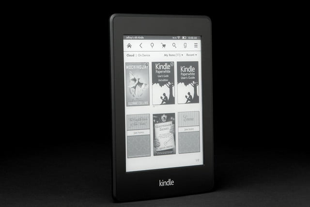 Kindle Paper White front angle