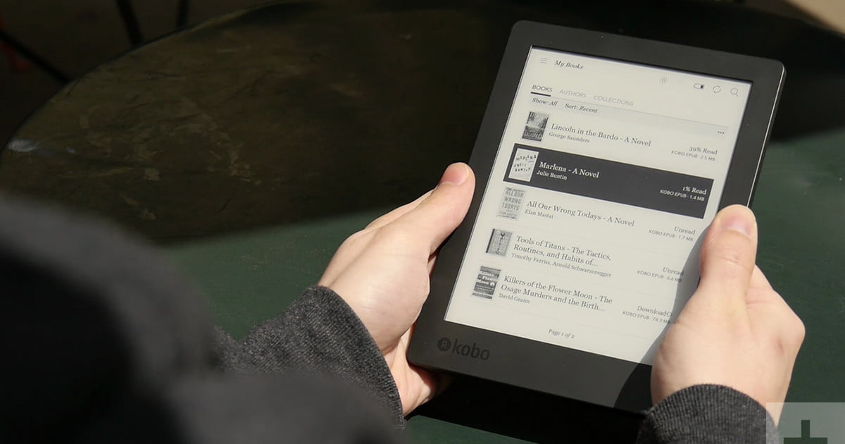 Kobo aura h2o edition 2 review digital trends fandeluxe Choice Image