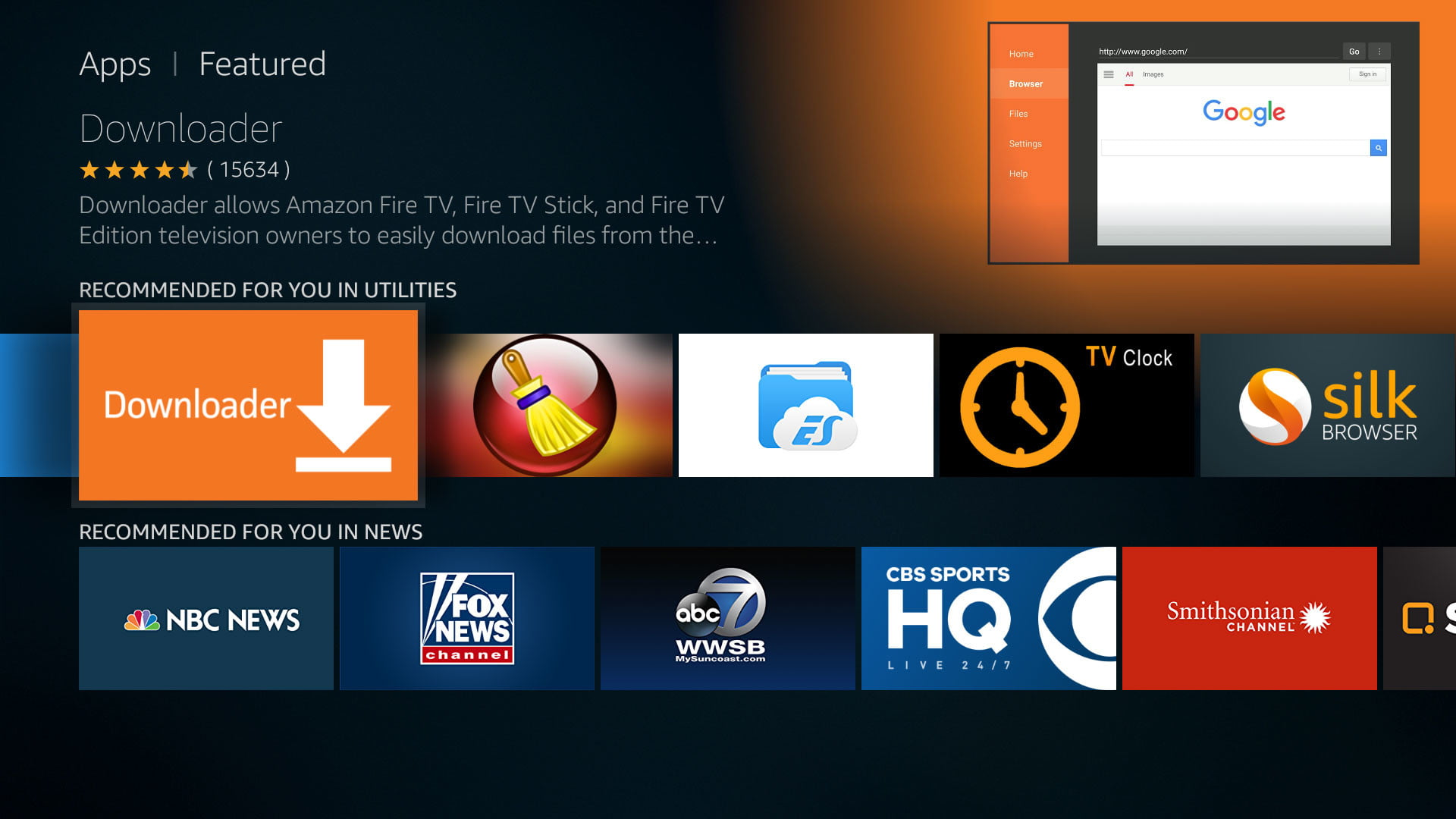 how to install kodi on an amazon fire tv downloader app