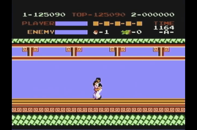 best nes games ever kung fu screen 3