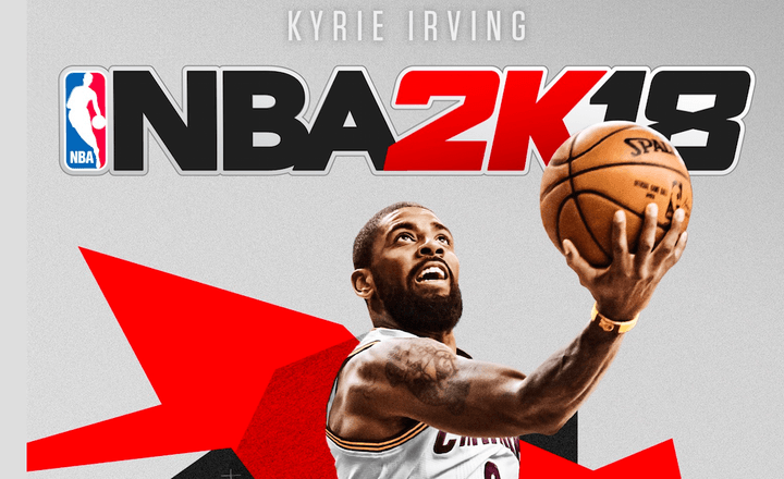 Cleveland Cavaliers Guard Kyrie Irving is the  NBA 2K18  Cover ... a330d0044