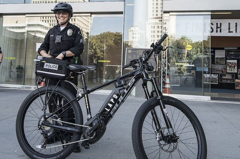 51639ad1548 If you need further proof that electric bicycles are becoming more  mainstream, than look no further than the Los Angles Police Department.