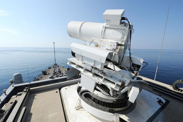 navy tests laser weapon system uss ponce laws5