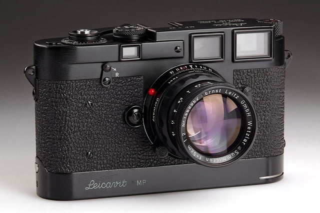 100 years leica auction marks renown camera makers anniversary rare items mp black print