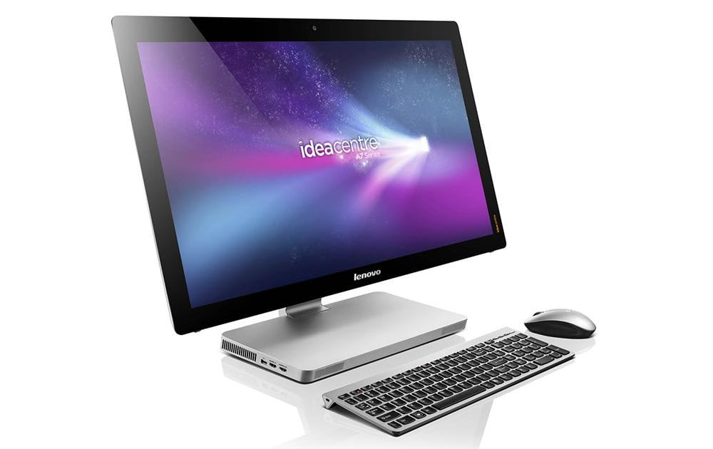 that lenovo c200 all in one desktop pc computer touch screen you can