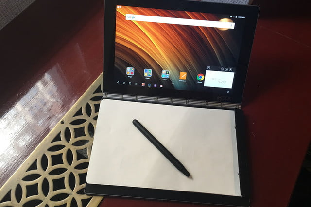 lenovo yoga book hands on handson 017