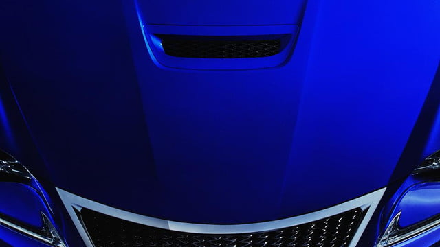 2015 lexus rc f is revealed ahead of the 2014 detroit auto show teaser 2