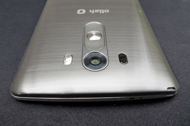 LG G3 work review top back