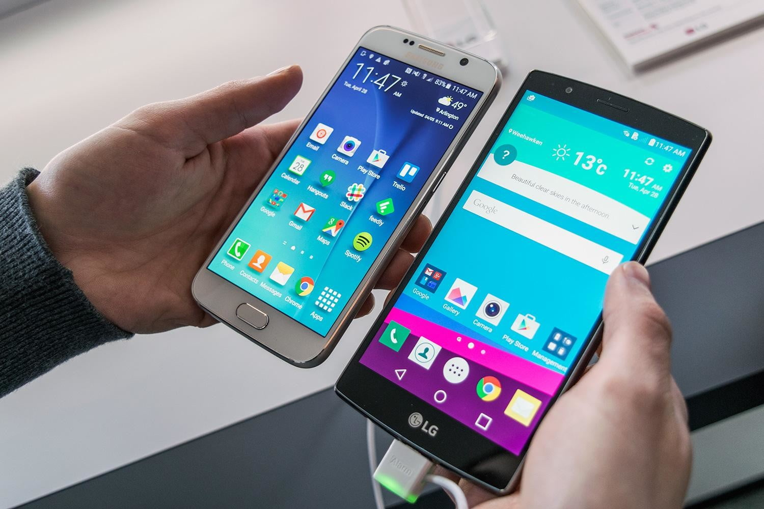 LG G4 vs  Galaxy S6: In-Depth Comparison (Which is best?) | Digital