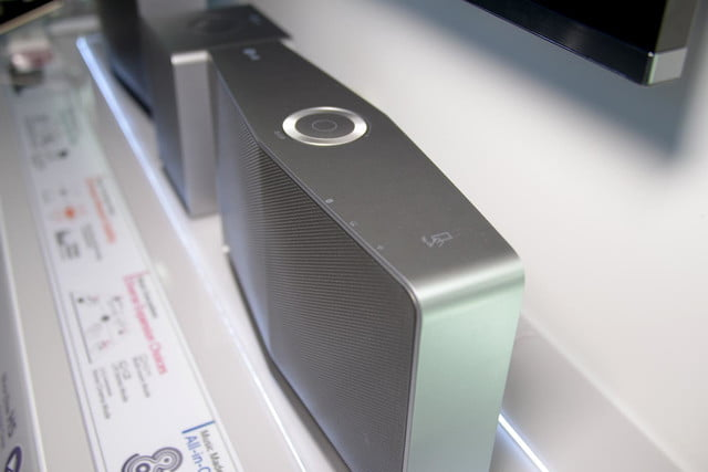 LG Music Flow speaker top