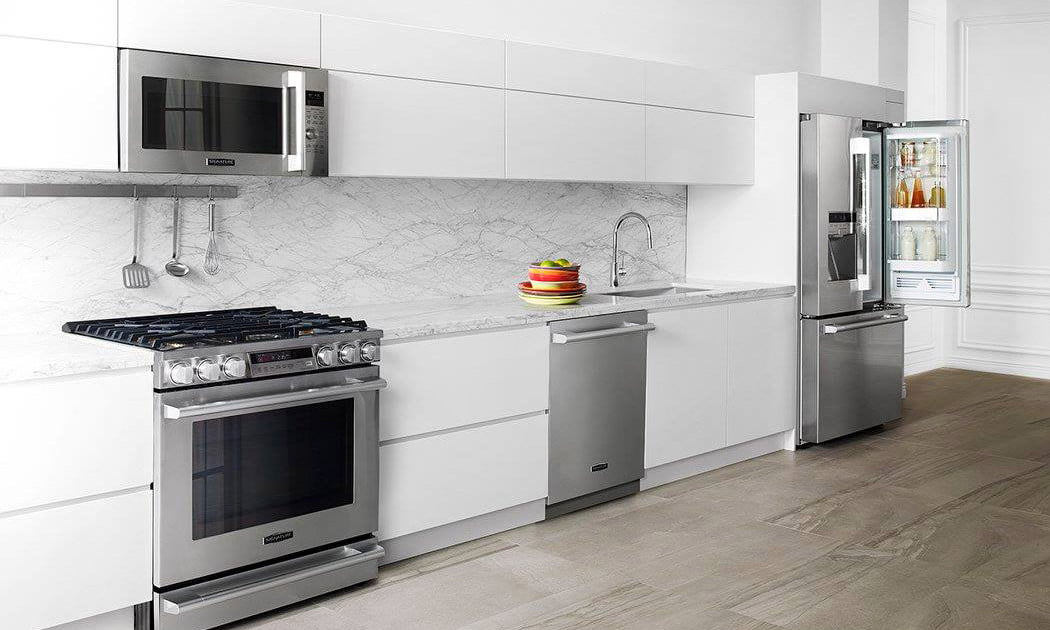Signature is a luxury smart appliance brand from lg for Luxury kitchen brands