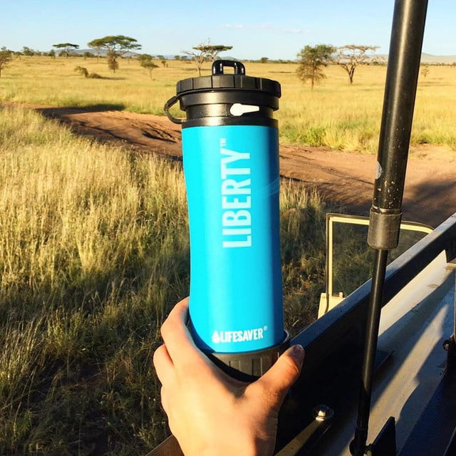 lifesaver liberty portable water bottle filter liberty3