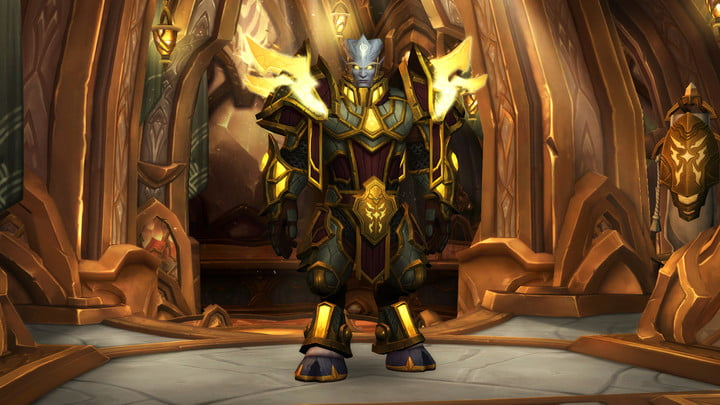 world of warcraft allied races guide lightforged armor
