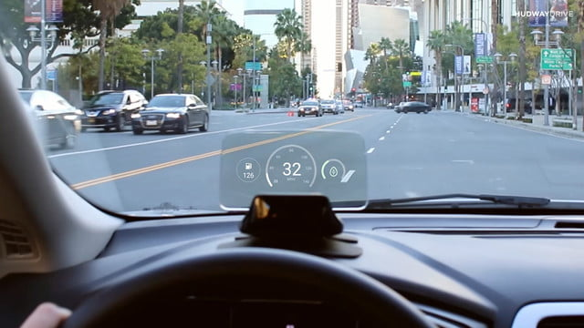 hudway drive heads up display hands on review live 1